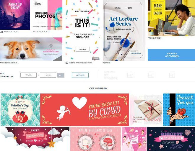 Дизайн онлайн бесплатно. Как сделать красивый дизайн без дизайнера? 6 крутых сайтов