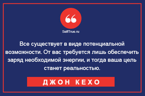 """Метод Джона Кехо, автора бестселлера """"Подсознаниеможет все"""""""